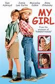 My Girl (1991). [PG-13] 102 mins. Starring: Dan Aykroyd, Jamie Lee Curtis, Macaulay Culkin, Anna Chlumsky, Peter Michael Goetz and Richard Masur