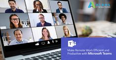 Businesses across the globe are moving to remote work and aim to keep employees connected while they work apart. There is a Microsoft Teams – video conferencing app available to help make remote work efficient and productive. Keep up with our blog for the latest products and services to enhance your tech experience at home. #AlgolITSolutions #MicrosoftTeams #WFH Video Team, Team S, Productivity, Microsoft, Remote, Globe, Tech, App, How To Make