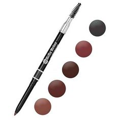 Eyebrows frame and define your face, so don't settle for a less-than-gorgeous look! The Bella Reina Waterproof Automatic Eyebrow Pencil comes in 5 shades to match any color brow. #beauty #makeup #brows