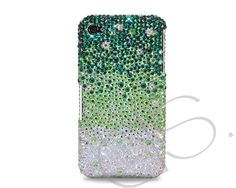 Gradation Bling Swarovski Crystal Phone Case - Green  http://www.dsstyles.com/ds.crystals/ds.-crystal-phone-cases-gradation-swarovski-crystal-phone-case-green.html
