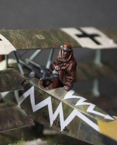 1:72 WWI pilot