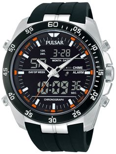Pulsar PW6009 Analog-Digital Watch