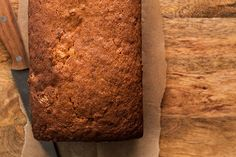 Aunt Holly's Banana Bread, recommended by Caroline. Use about 1/4 cup chocolate chips, the small semi-sweet ones
