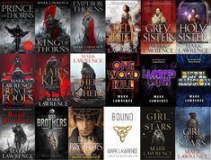 I've written a few books... Prince Of Fools, Prince Of Thorns, Red Queen, The Fool, Sisters, Books, Libros, Book, Book Illustrations