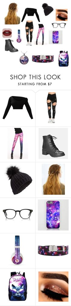 """galixy"" by ravenstardust on Polyvore featuring beauty, Avenue, Miss Selfridge, WithChic and Beats by Dr. Dre"