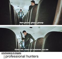 Professional hunters are working! #supernatural