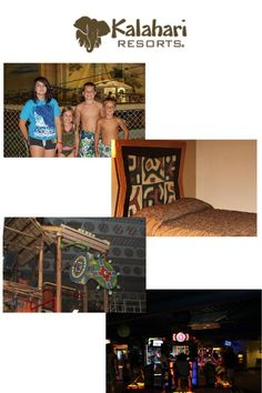 Kalahari Resorts Has Lots of things to do for family fun