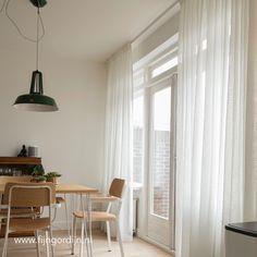 vitrage of inbetween gordijnen   woonkamer   Pinterest