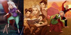 Cosa farà ora Ariel dopo il successo planetario de La sirenetta? E Mulan? Ecco come trascorrono le giornate di relax le principesse Disney andate in pensione da un pezzo