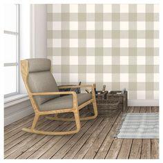 Devine Color Buffalo Plaid Peel & Stick Wallpaper -Twig and Lightning : Target