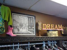 Dream.  Ms. Mulligan's Consignment Boutique