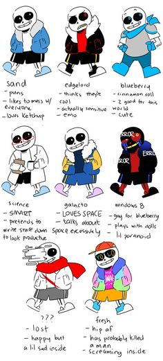 The Sans squad as told by some non-nerd.
