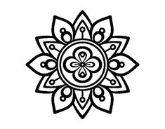 Tattoo Mandala Lotus Flower Coloring Pages 37 Super Ideas Mandalas Drawing, Mandala Painting, Dot Painting, Flower Coloring Pages, Colouring Pages, Coloring Books, Pattern Dots, Mandala Pattern, Simple Flowers