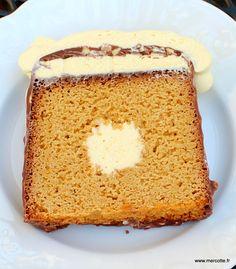 Dernier volet pour ces cakes avec insert qui permettent de laisser libre cours à l'imagination. Je vous propose deux cakes passion, une version sans gluten très inspirée de cette recette et u…