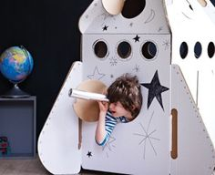 Rocket playhouse - great Christmas gift idea