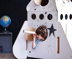 Rocket playhouse - great Christmas gift idea