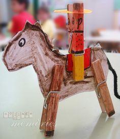 cowboys en paard