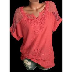 1ede3292617a08 Solid Casual V-Neckline Short Sleeve Blouses (01645347541) Kurze Ärmel  Bluse