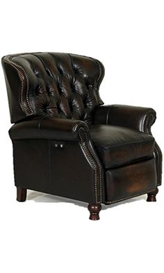 presidental ii leather wing power electric recliner chair by best price