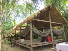 The Mekong Bamboo Hut - Amazing & romantic guest house on the Koh Pene island near Kampong Cham, Cambodia - VISITING KAMPONG CHAM IN ON DAY