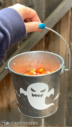 Use your awesome assortment of Halloween Themed transfer stickers to create a cute candy corn bucket for your desk this Spooky Season!!! Halloween Stickers, Halloween Themes, Cute Candy, Diy Stickers, Candy Corn, Special Occasion, Bucket, Desk, Create