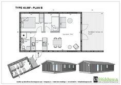 Forskellige hustyper og planløsninger - KB Fritidshuse