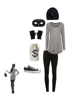 Bank Robber Costume - why haven't I thought of this !