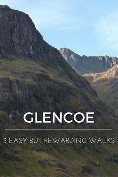 Glencoe - 3 easy but rewarding walks Glencoe, Scotland; Scotland Travel Guide, Scotland Vacation, Scotland Road Trip, Places In Scotland, Scotland Hiking, Scotland Food, Scotland Sightseeing, Scotland Tourism, Scotland People