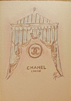 Chanel Cruise 2013 show invitation