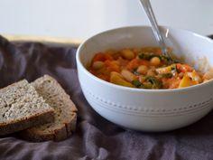 White Bean Sweet Potato Stew for 2
