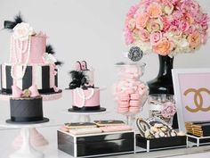 Coco Chanel Inspired Fashionista Party | by As Sweet as it Gets www.assweetasitgets.com