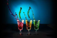 Splash by Paul Cousins - Food & Drink Alcohol & Drinks ( liquid, splash, alcohol, glass, shot glass ) Drink Photo, Cousins, Shot Glass, Alcoholic Drinks, Champagne, Day, Tableware, House, Food