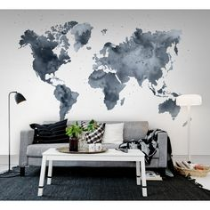 Fototapet Duscky World, personalizat, Rebel Walls