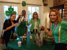 """Join us for """"the best breakfast party"""" in town on 17th March!  Less than a week to go till St Paddy's :)"""