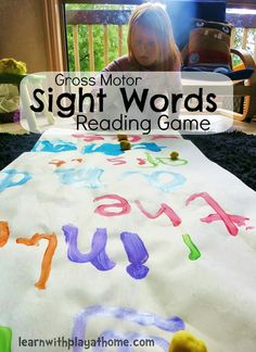 Learn with Play at home: Learning Sight Words.