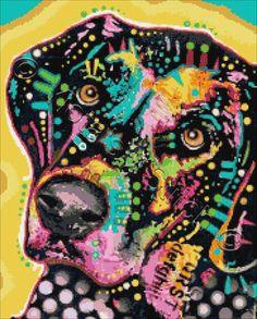 dean Russo Painting Dog Dogs Portrait Graffiti pop Art Pet Pets Etsy mixed Breed Mutt Mutts Painting - Snoop by Dean Russo Painting Prints, Wall Art Prints, Fine Art Prints, Paintings, Stencil, Acrylic Wall Art, Arte Pop, Dog Portraits, Collage