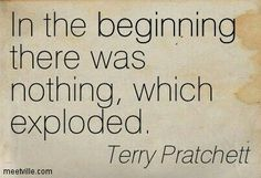 Quote by Terry Pratchett About science. That's the bit of the theory I never quite understood but . Book Quotes, Me Quotes, Great Quotes, Inspirational Quotes, Terry Pratchett Discworld, Literary Quotes, Book Nerd, Reading, Wise Words