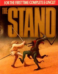 Stephen King THE STAND The FIRST TIME Complete & UNCUT Large PB Excellent Cond.