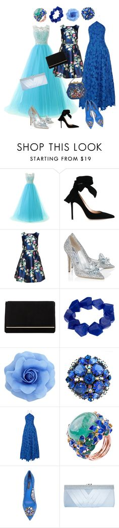 """""""2"""" by rancid-p ❤ liked on Polyvore featuring Gianvito Rossi, Jimmy Choo, Dune, John Lewis, Badgley Mischka, Dolce&Gabbana and GCGme"""