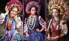 Vinoks were traditionally seen as a symbol of purity and virginity, but they are now enjoying a comeback among Ukrainian women. Slavic workshop Treti Pivni are documenting them on social media.