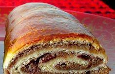 Babiččin božský ořechový závin s čokoládou, jednoduchý a velmi chutný.