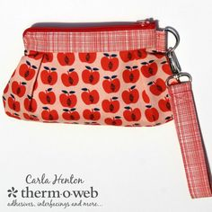 Make a Quick and Easy HeatnBond Essentials Wristlet Clutch - Therm O Web