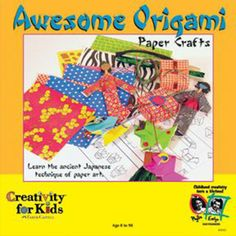 Awesome Origami - Age 8 to 98 http://www.artandcraft.ie/hobbies-kits-sets/creativity-for-kids-kits/awesome-origami-age-8-to-98.html