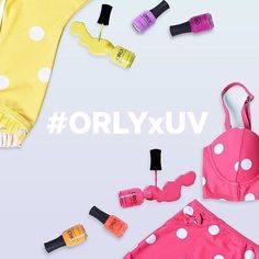 Time is running out! Regram your favorite and tomorrow winners will be announced.  We've teamed up with @uniquevintage and are giving 4 lucky gals a glam summer prize pack - a Unique Vintage swimsuit and the PCH nail color collection!  To enter:  1. Search #ORLYxUV to see all the looks  2. Follow @orlynails and @uniquevintage  3. RG your fav combo to win the #orlynails collection and #uniquevintage matching suit! by orlynails