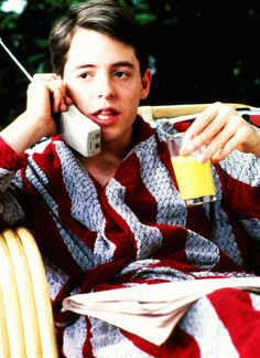 *BEST MOVIE EVER*  (or one of many. but top on the list of #1s!)   Bueller. Ferris Bueller.