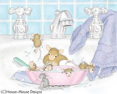 Shop House-Mouse Designs® Postcard created by HouseMouseDesigns. Cute Mouse, Baby Mouse, Blank Cards And Envelopes, House Mouse Stamps, Mouse Pictures, Mouse Color, Image Digital, Creation Photo, Pet Mice