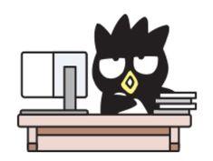 Badtz-maru ✁ Sanrio Characters, Fictional Characters, Bat Signal, Bad Boys, Superhero Logos, Penguins, Pop Culture, Musicals, Hello Kitty