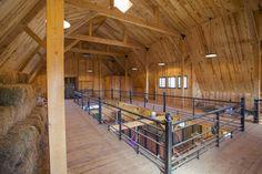 Traditional Wood Barn | Great Plains Gambrel Barn Project RDO810 | Photo Gallery