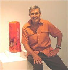 Chris Pantano - Australian glass artist - born in Sydney, Australia 1948