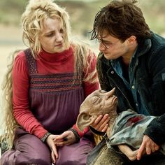 """We talked about building Dobby, and we did, for some eyelines and over-the-shoulder shots. That Dobby still sits in my office in San Francisco. He guards the office for me. But Dobby was always going to be a CGI character, and I'm very proud of how he turned out."" - Chris Columbus #HarryPotter"